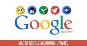 Google Updates 2020 to 2003