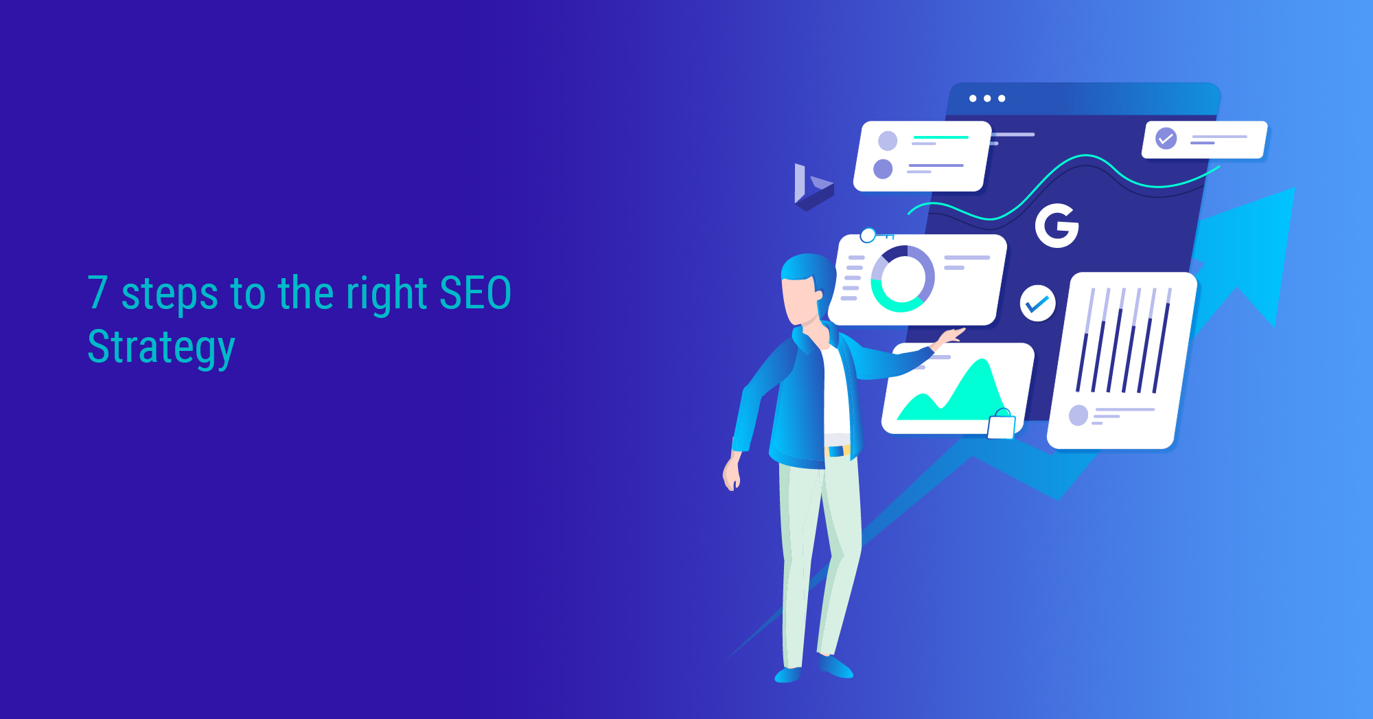 7 steps to the right SEO strategy